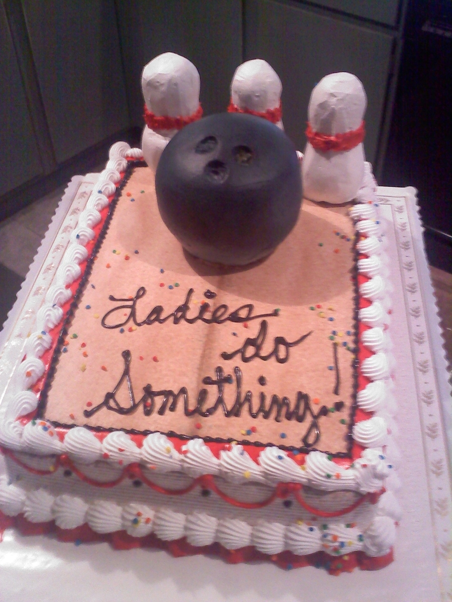 Bowling Theme on Cake Central