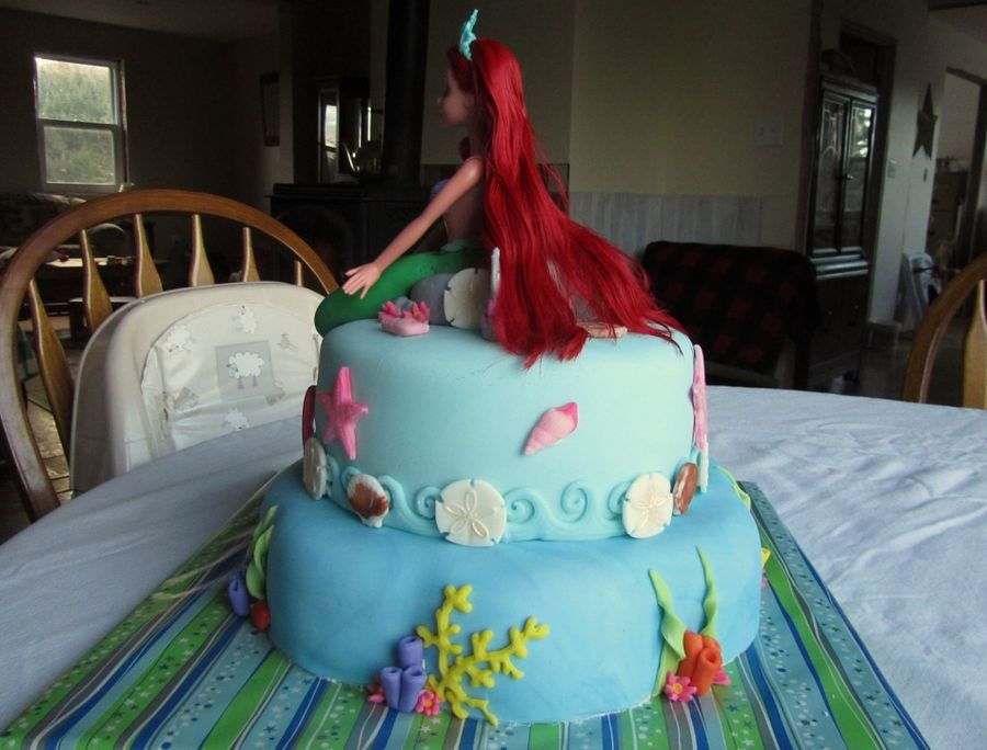 Little Mermaid 30th Birthday Cake Although Shes Turning 30 Her Love For Ariel Is Timeless