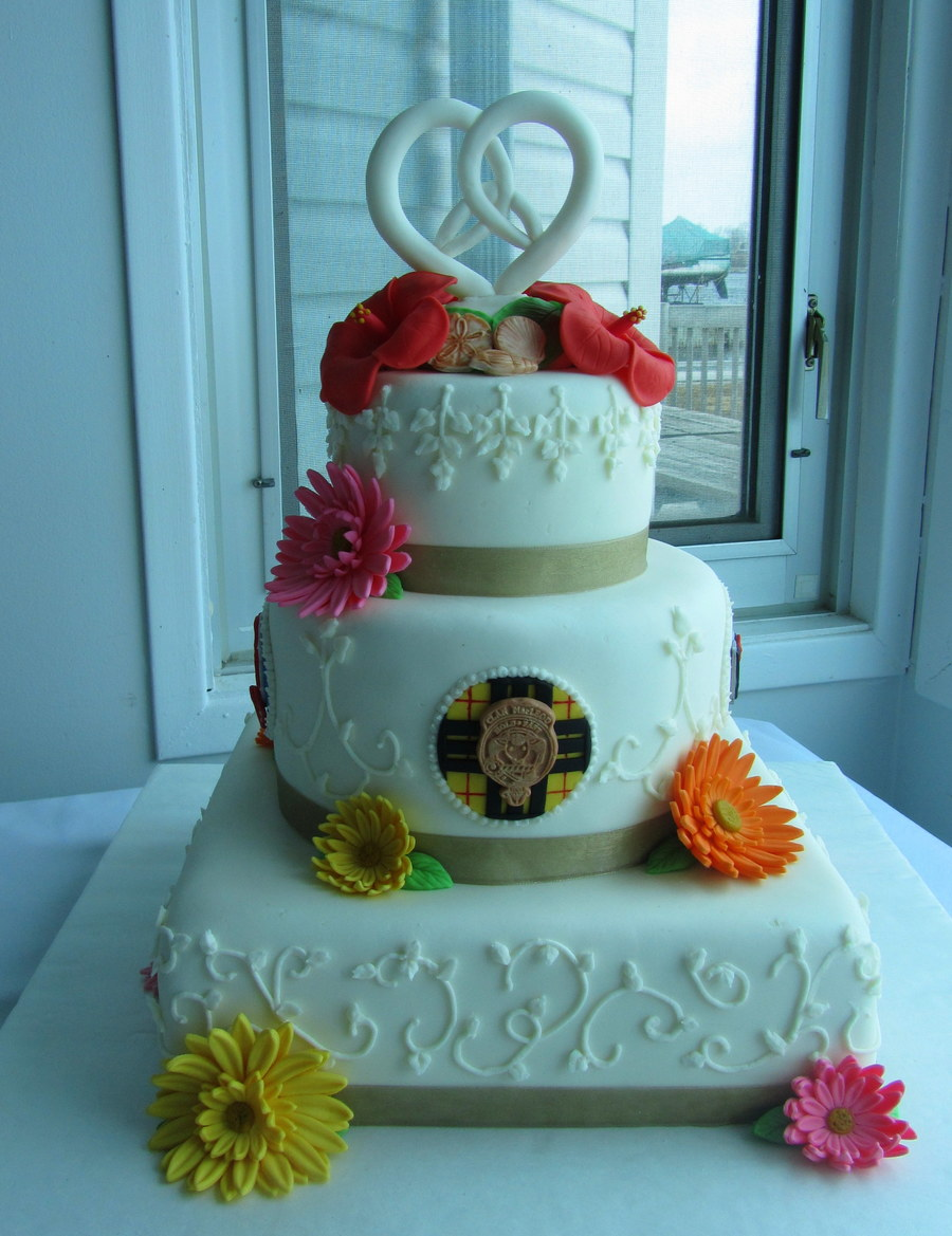 irish wedding cakes pictures celtic wedding cake cakecentral 16485