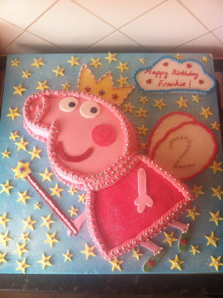 Peppa Pig Princess Cake Cakecentral Com