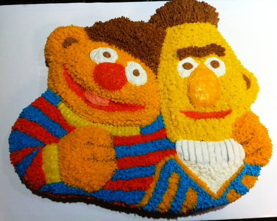 Ernie And Bert on Cake Central