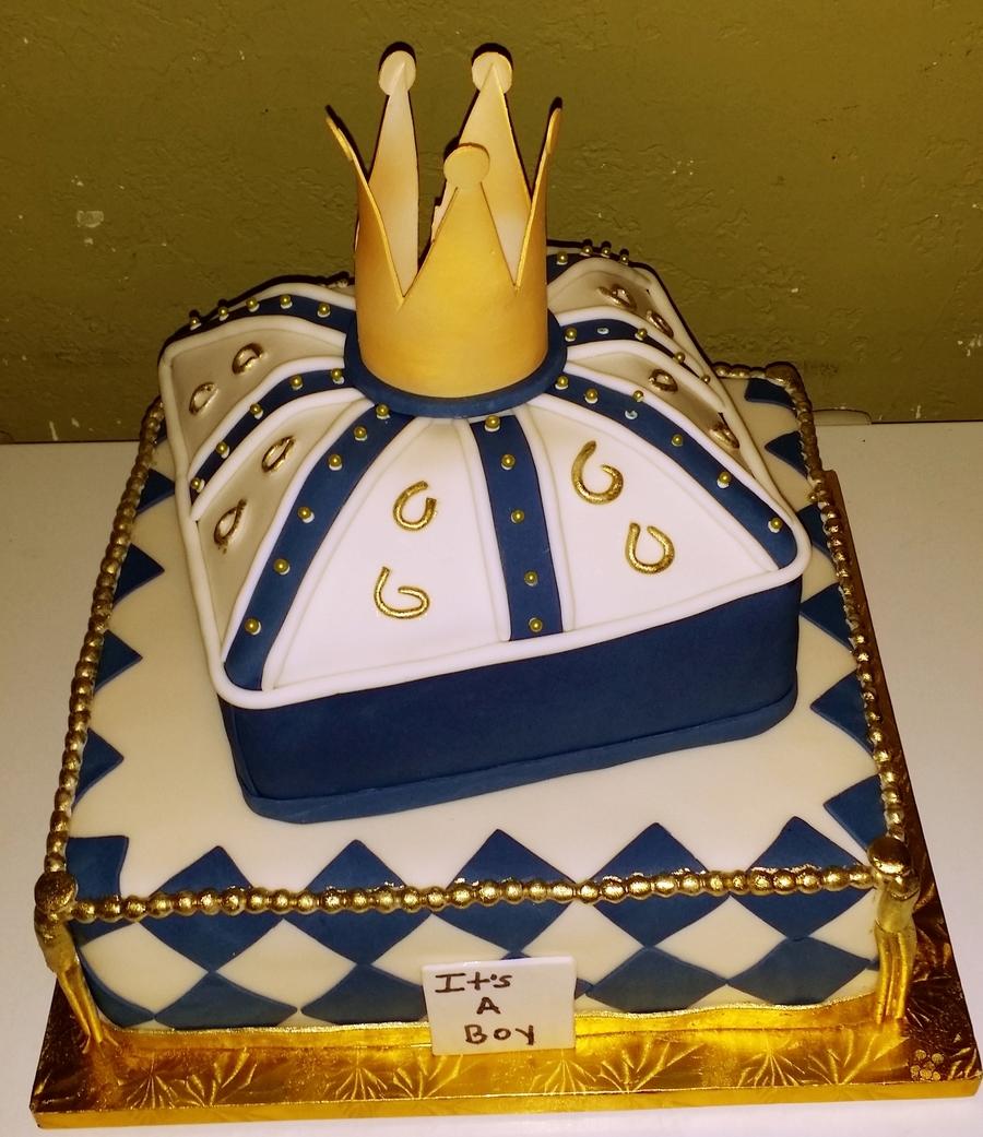 Prince Crown Cake Ideas