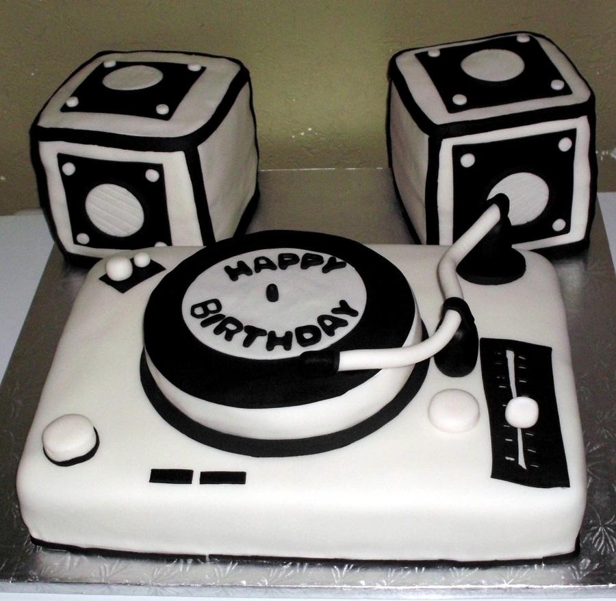 Dj Set Cake Cakecentral Com
