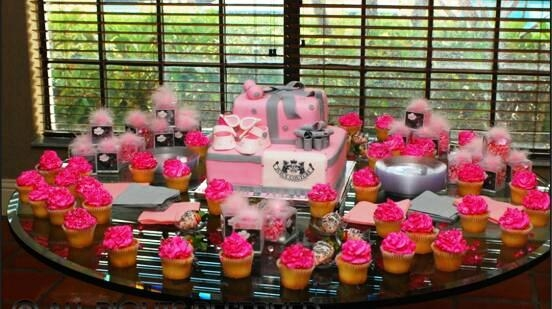 Juicy Couture Babyshower Cake Wbling Bling Cakecentral