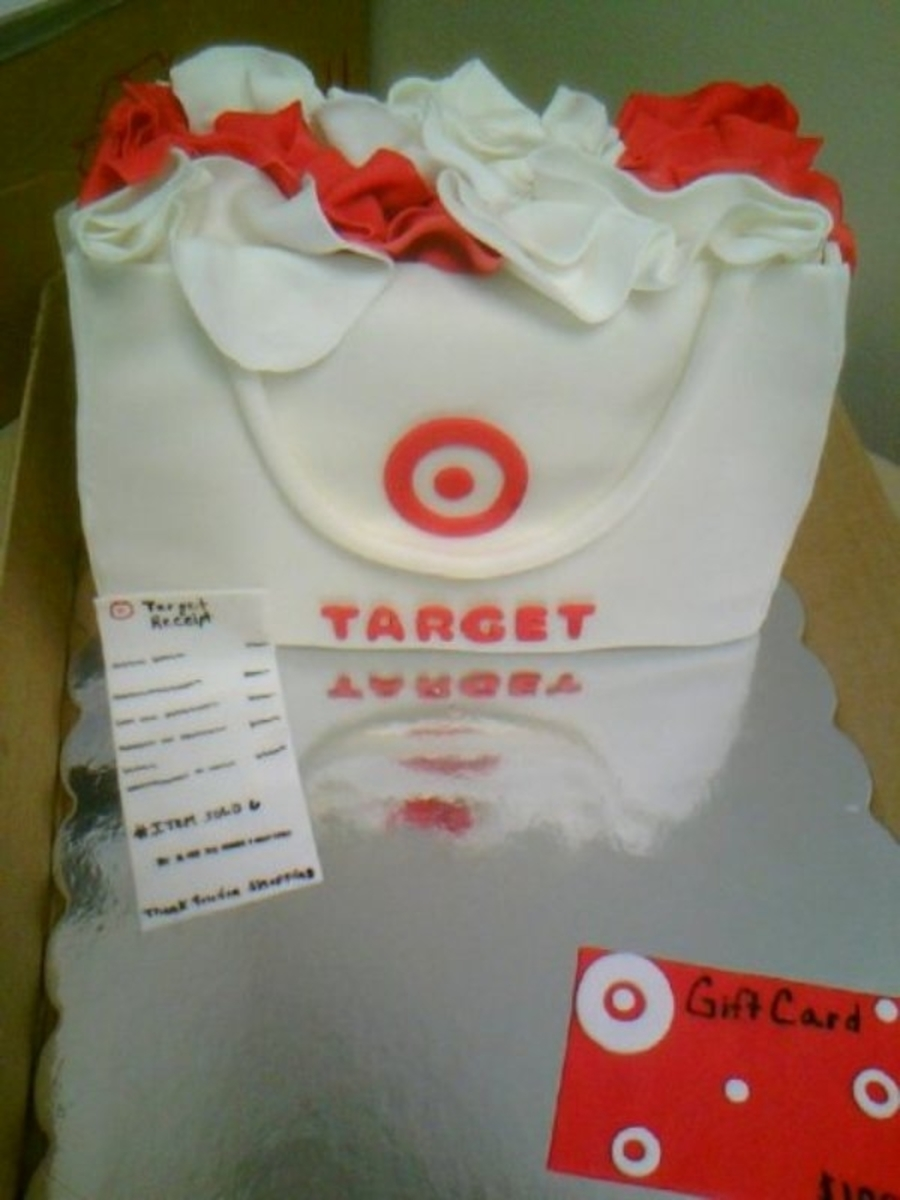 Superb Target Shopping Bag Cake Cakecentral Com Funny Birthday Cards Online Alyptdamsfinfo