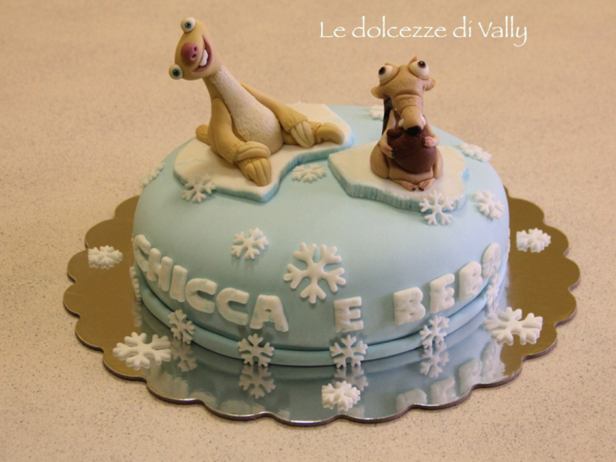 Ice Age Cake Cakecentral Com