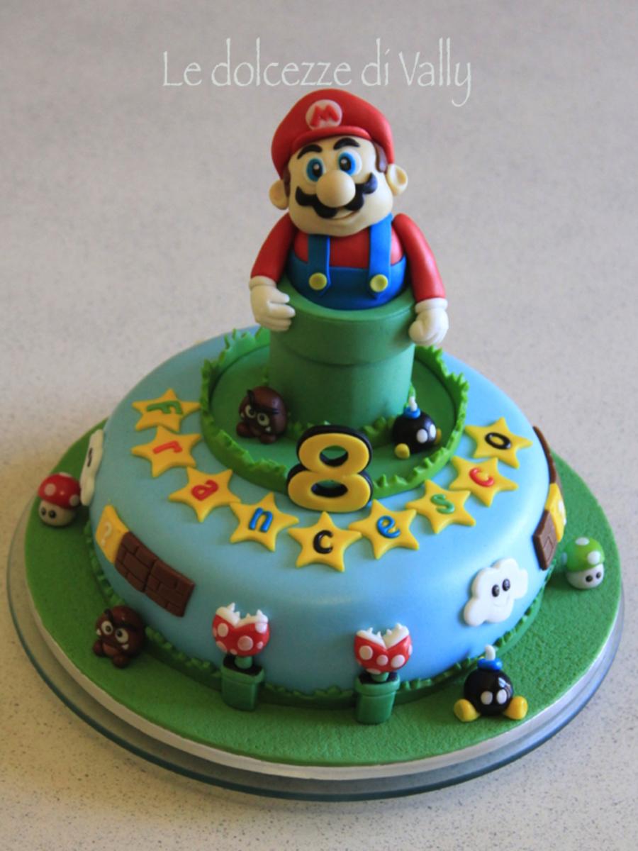 Super Mario Bros Cake Cakecentral Com