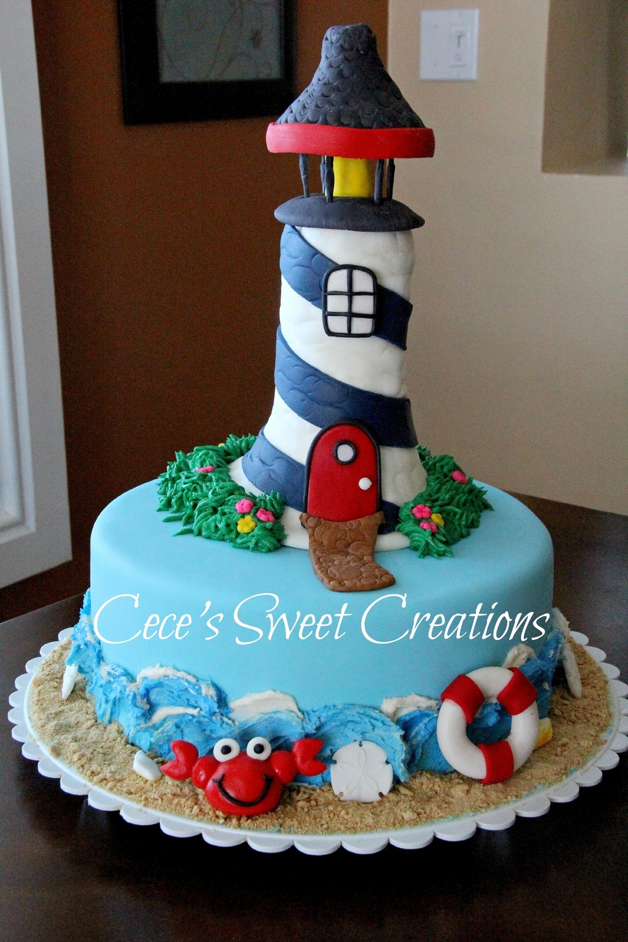 Lighthouse Birthday Cake Cakecentral Com