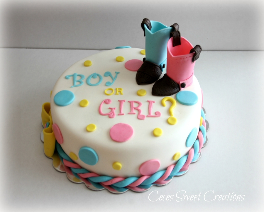 Gender Neutral Baby Shower Cakes Made With Cupcakes