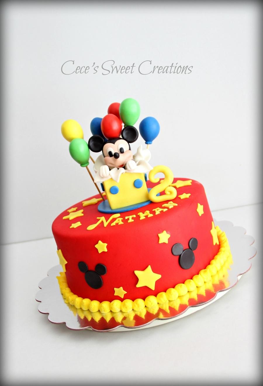 Turning  Cake Ideas