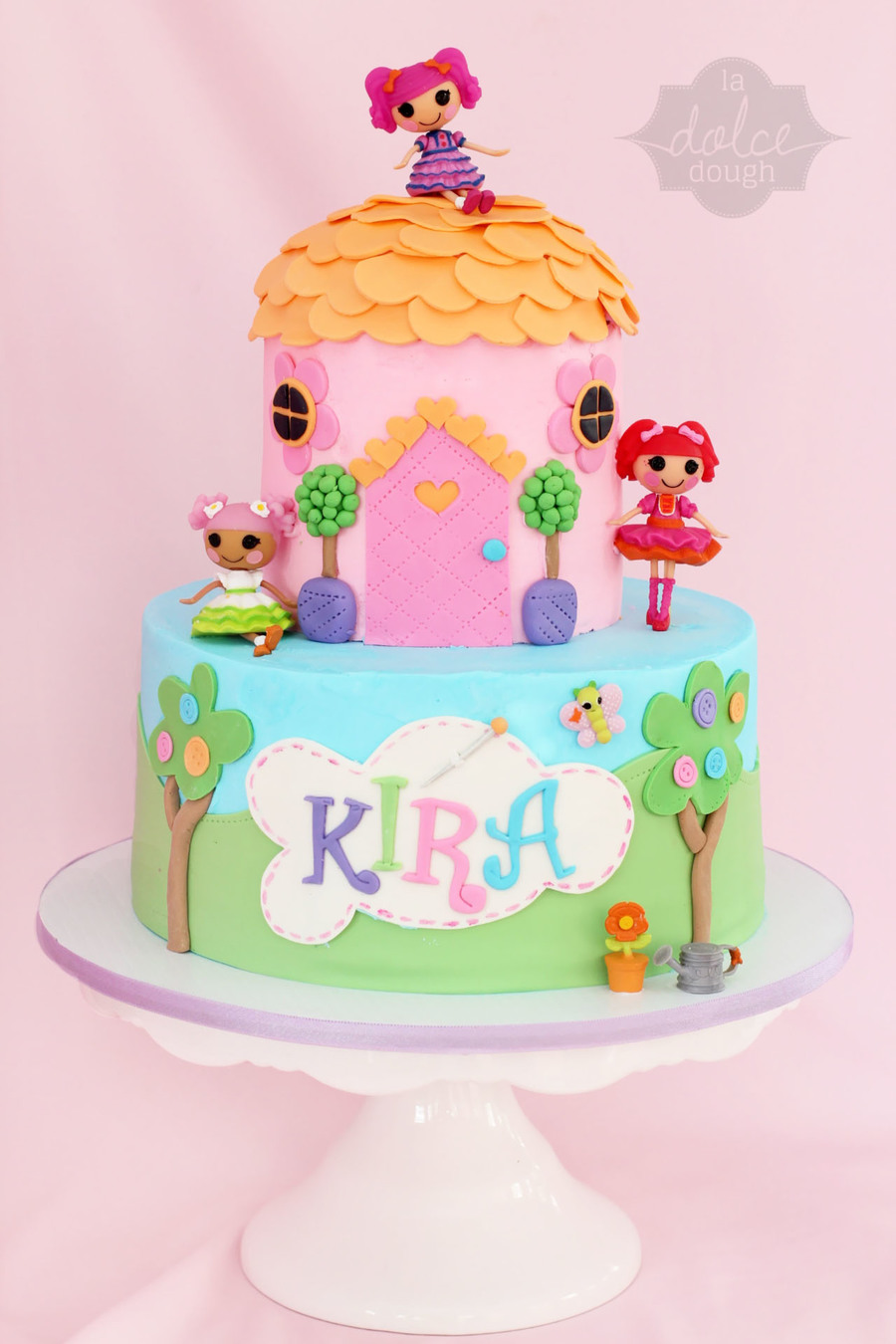 Lalaloopsy cake, Design inspired by little cherry cake company. - La ...