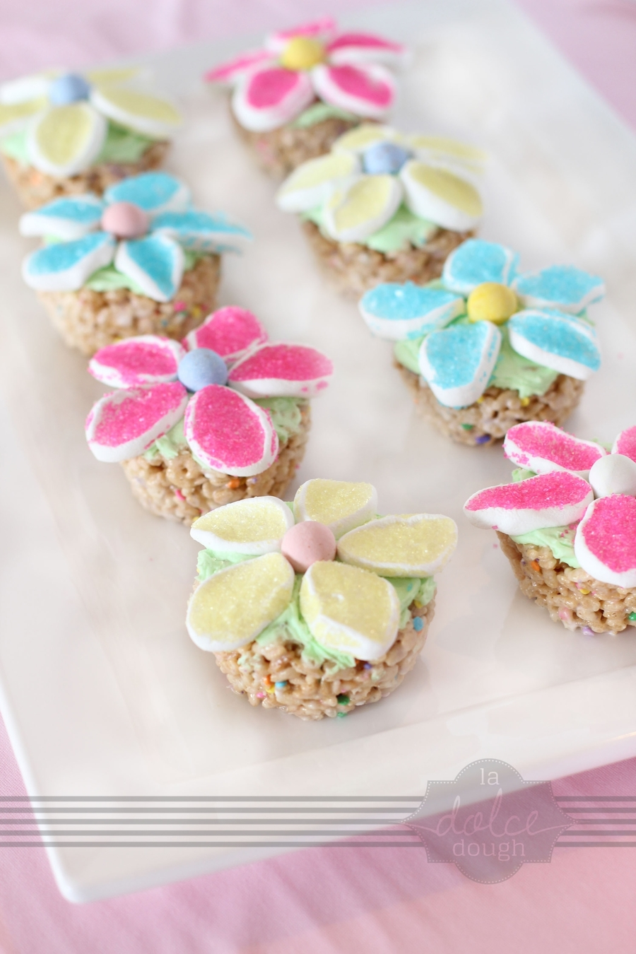Marshmallow Flower Cupcakes on Cake Central