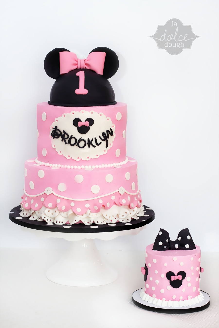 Minnie Mouse 1St Birthday CakeCentralcom