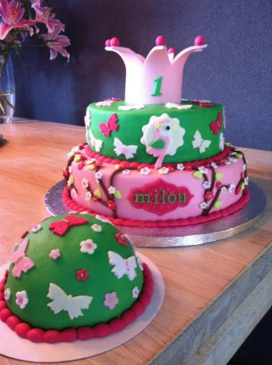 Taart Milou on Cake Central