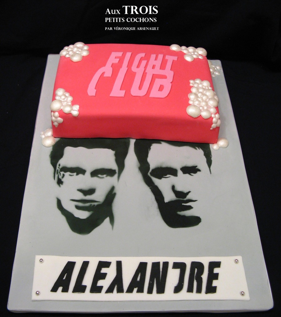 Fight Club!!! on Cake Central