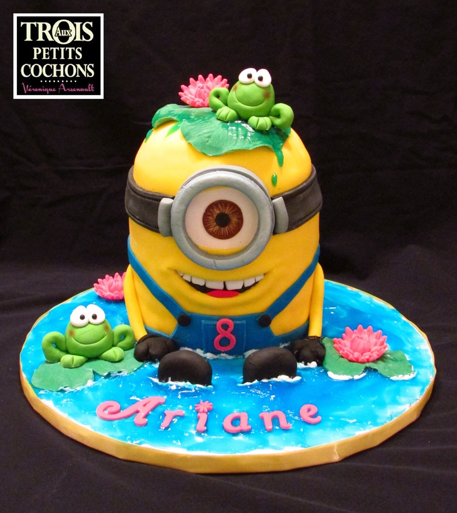 Minion cake - Cake decorations minions ...