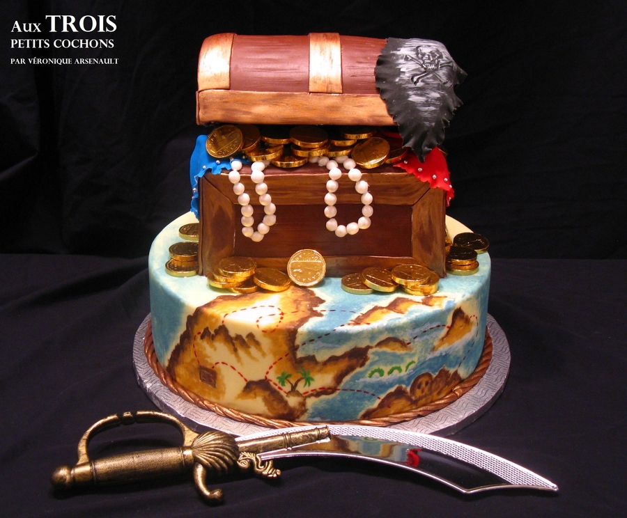 Pirate!!! on Cake Central