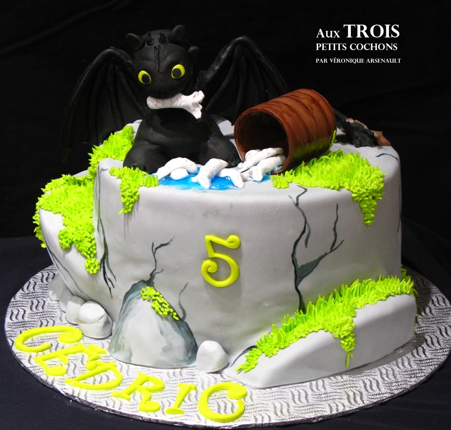 How To Train A Dragon on Cake Central