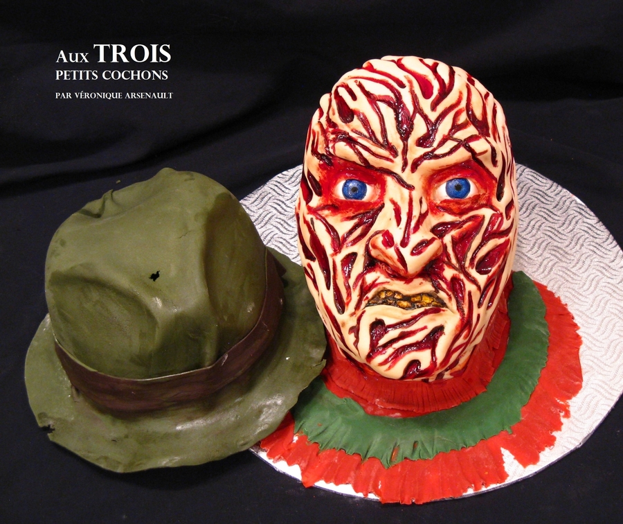 Freddy Krueger on Cake Central
