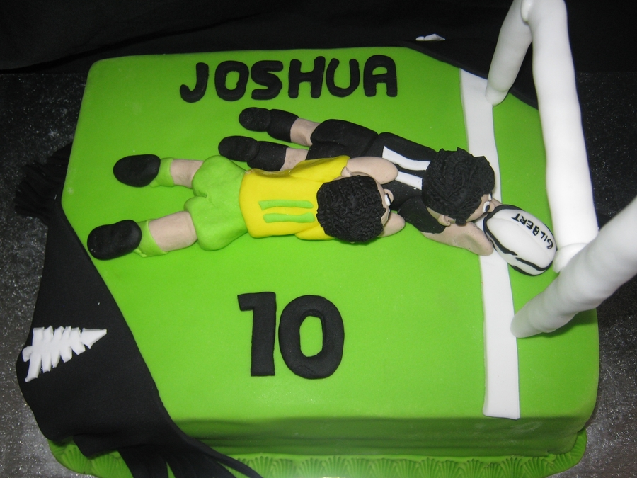 Rugby on Cake Central