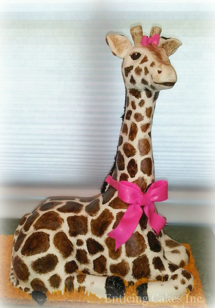 How To Make A D Giraffe Cake