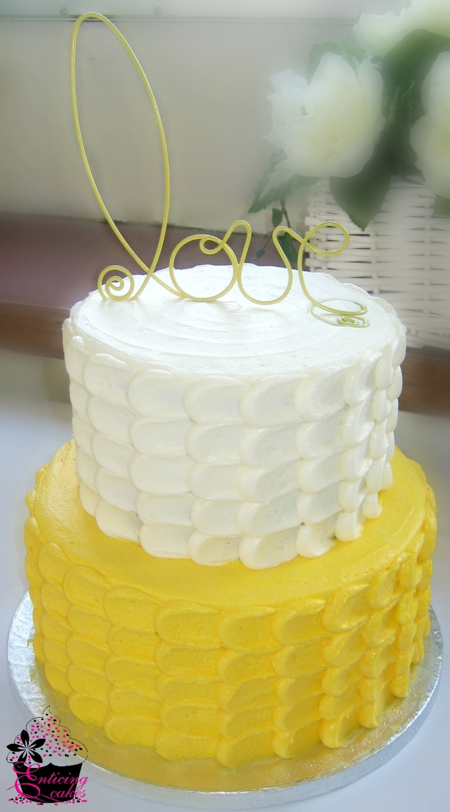 Yellow Petal Cake on Cake Central