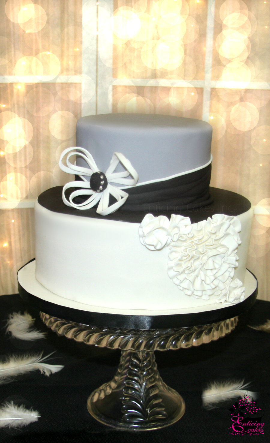 Modern Couture on Cake Central
