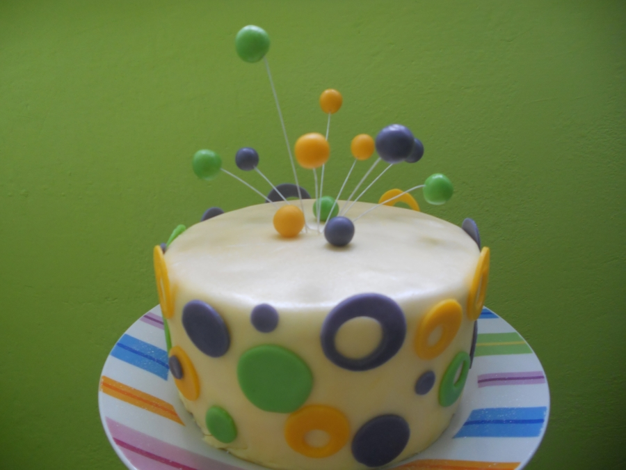 Dots One on Cake Central