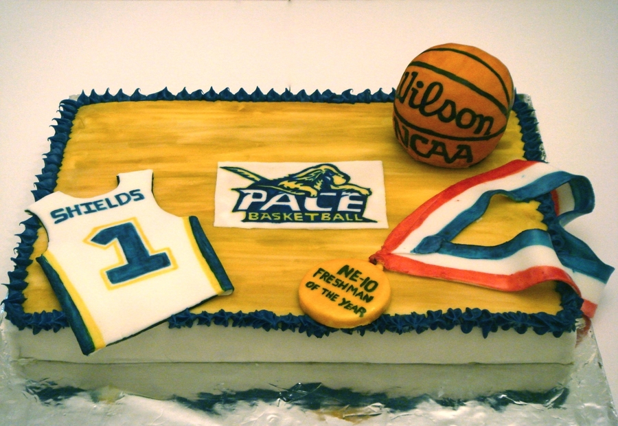 Pace Basketball Cake on Cake Central
