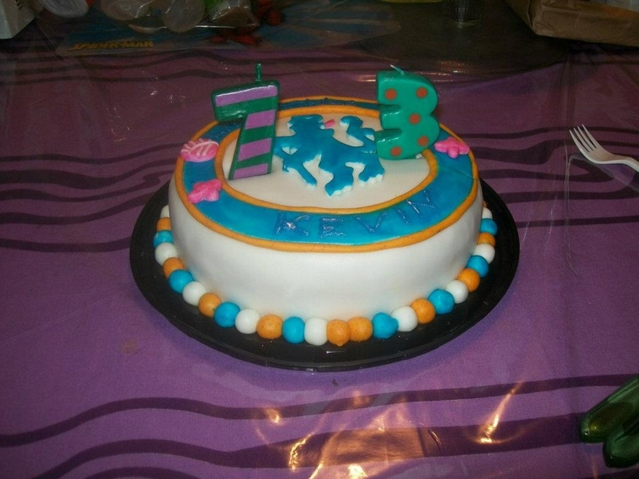 Chelsea Fc Cake. on Cake Central