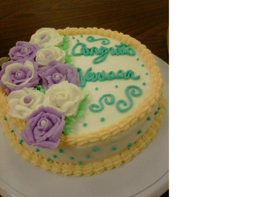 Wilton Graduation Cake - CakeCentral.com