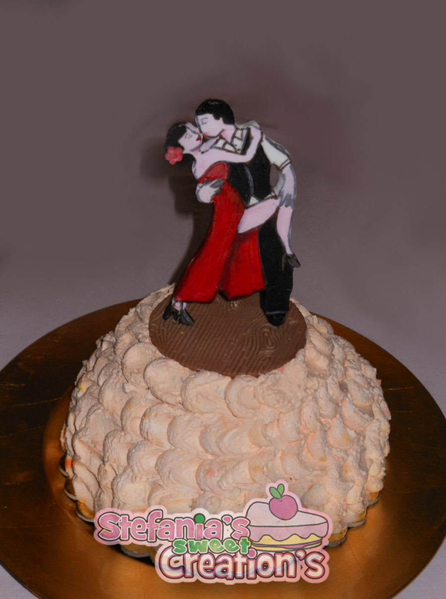 Tango Dancer Cake on Cake Central