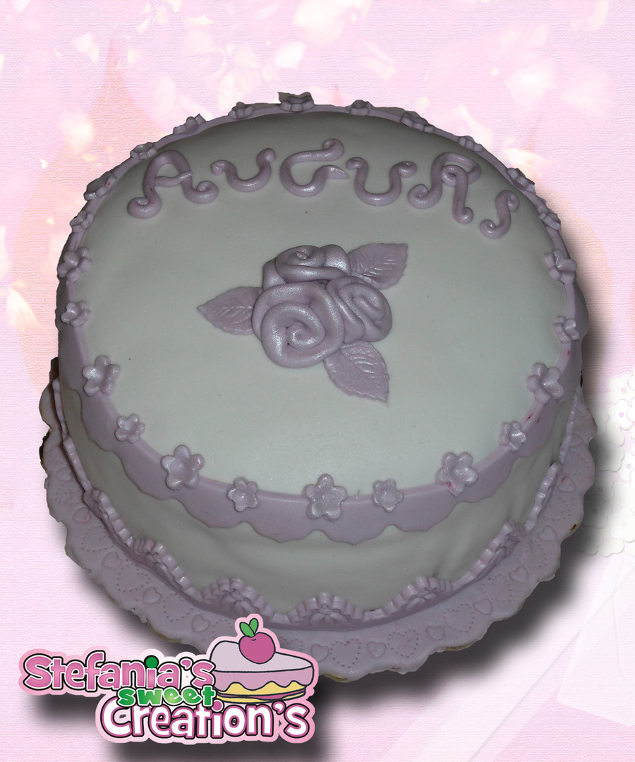 Elegant Lilac - Elegante In Lilla on Cake Central