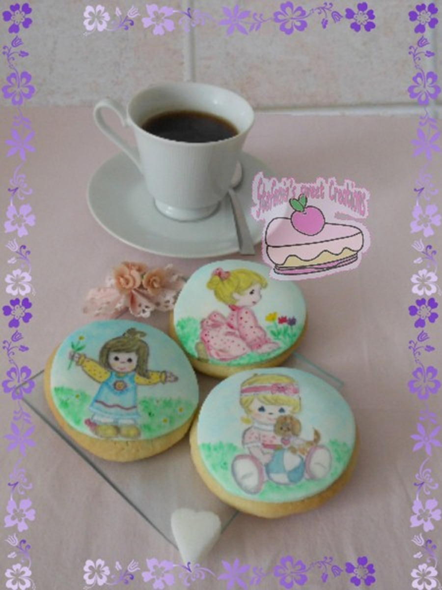 Precious Moments Cookies on Cake Central