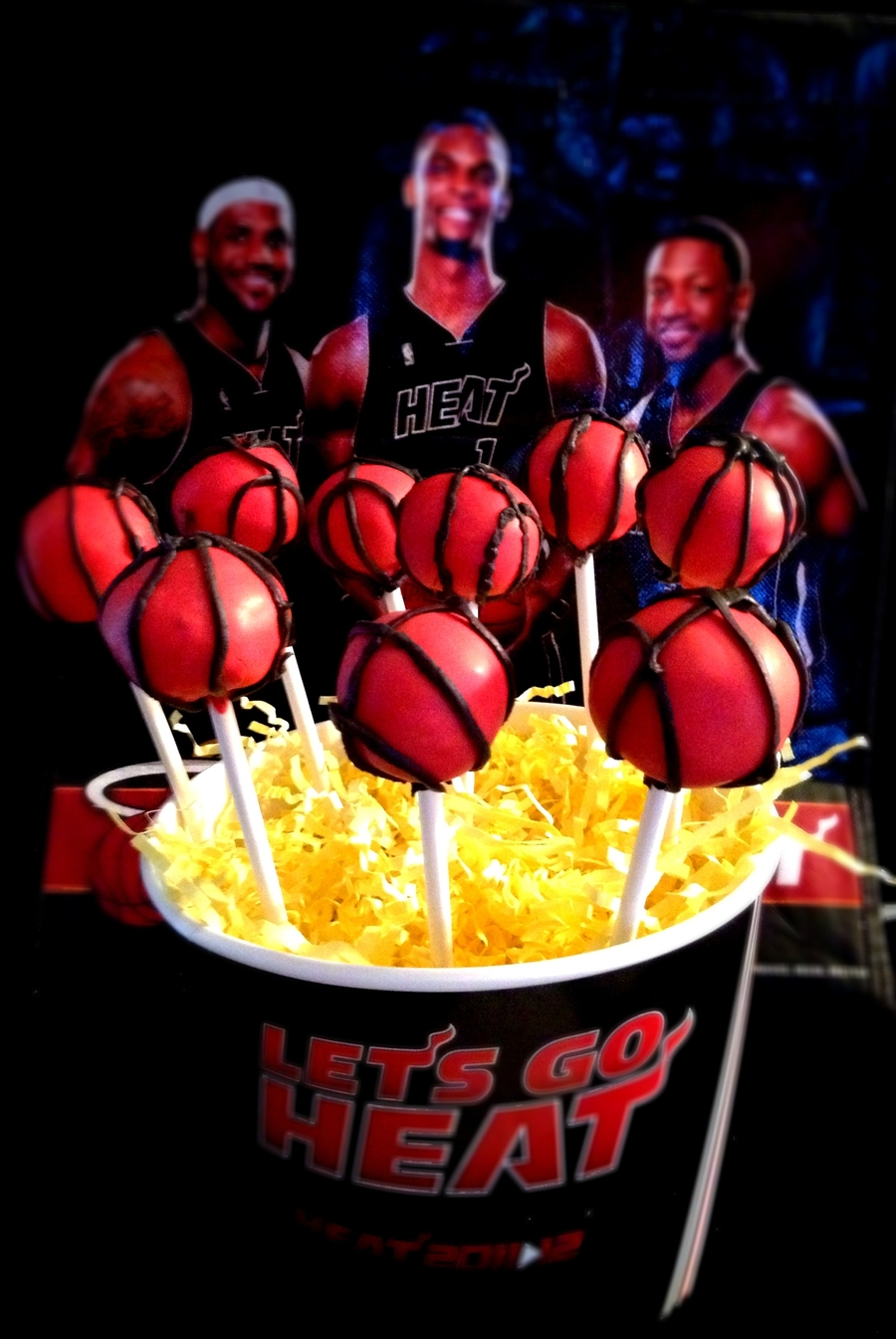 Lets Go Heat on Cake Central