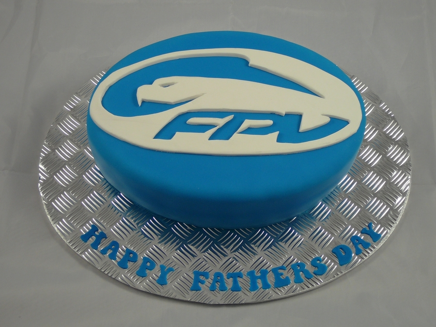 Ford Father's Day Cake on Cake Central
