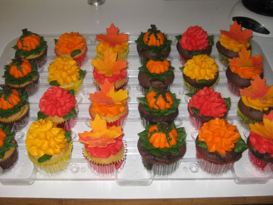 Fall Cupcakes on Cake Central