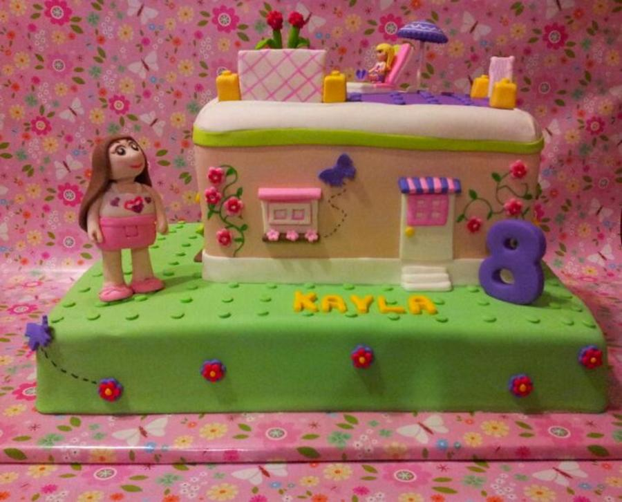 Surprising Lego Friends Cake Olivias House Cakecentral Com Personalised Birthday Cards Paralily Jamesorg