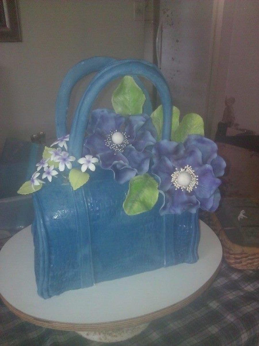 My First Purse Cake For A Fashionistas 30Th Birthday on Cake Central