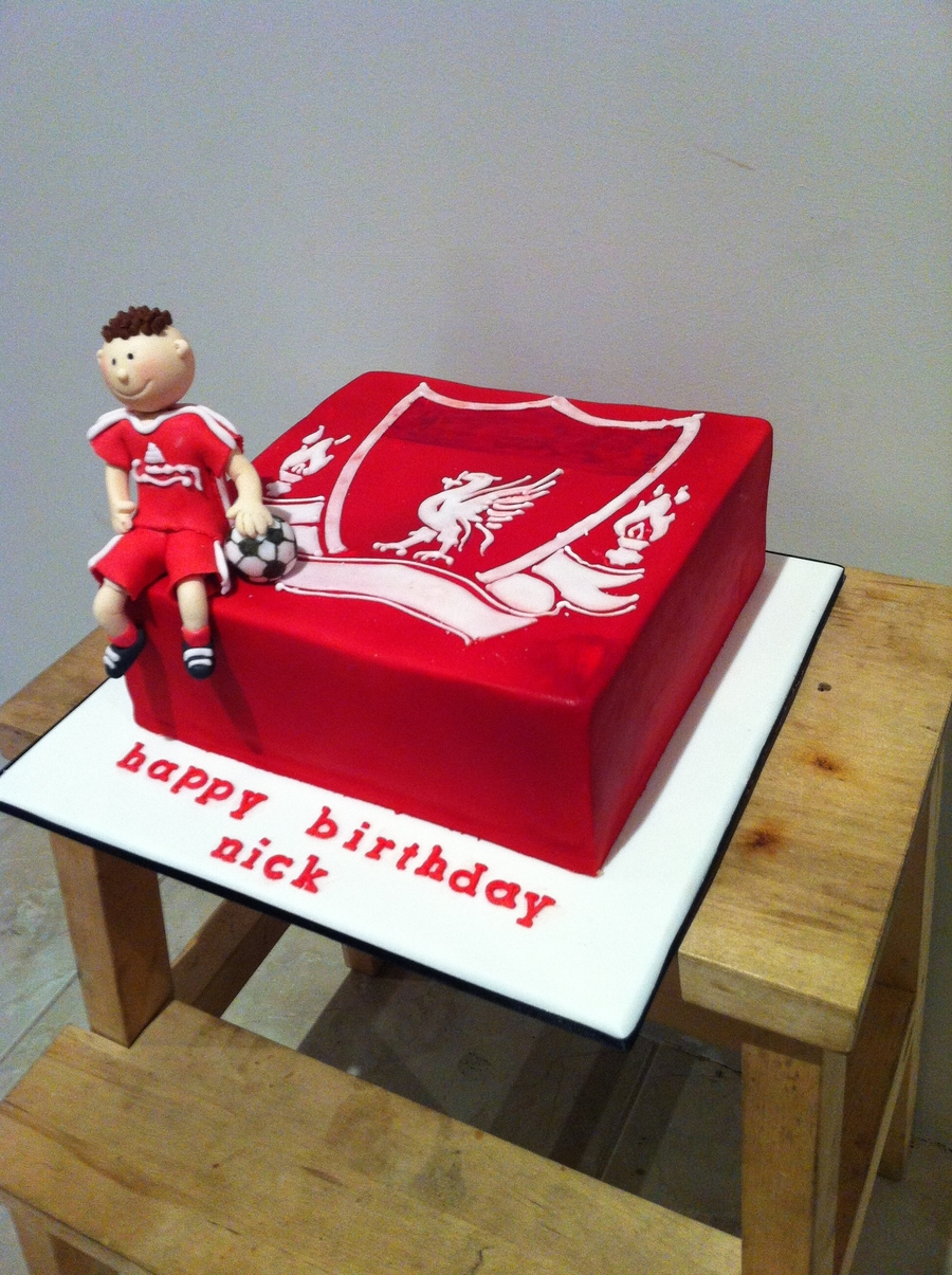 Liverpool Fc Cake on Cake Central