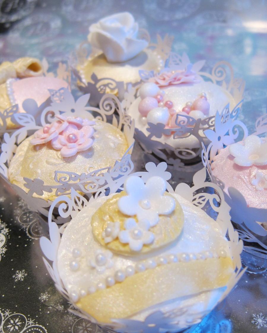 Cakecentral Com: Vintage Wedding Cupcakes