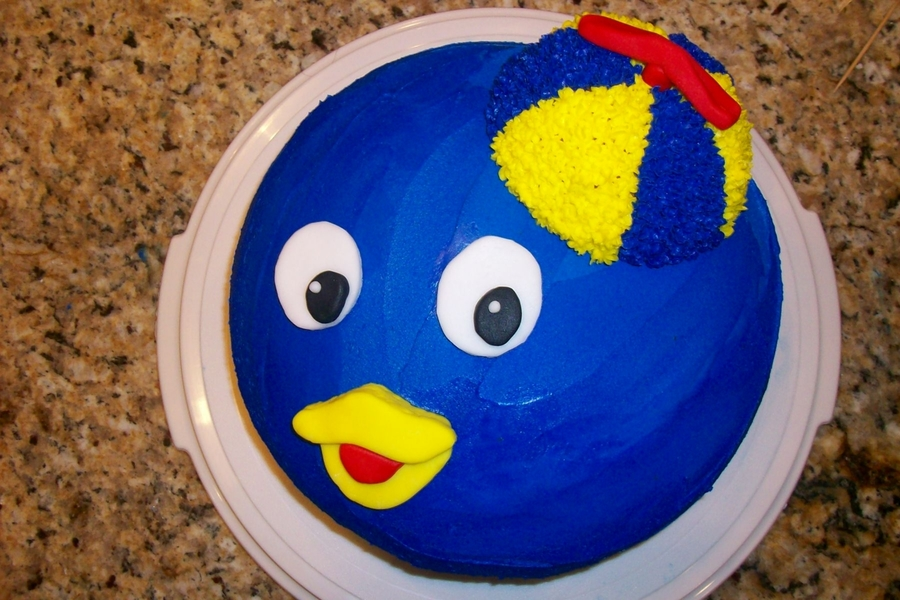 Pablo From The Backyardigans on Cake Central