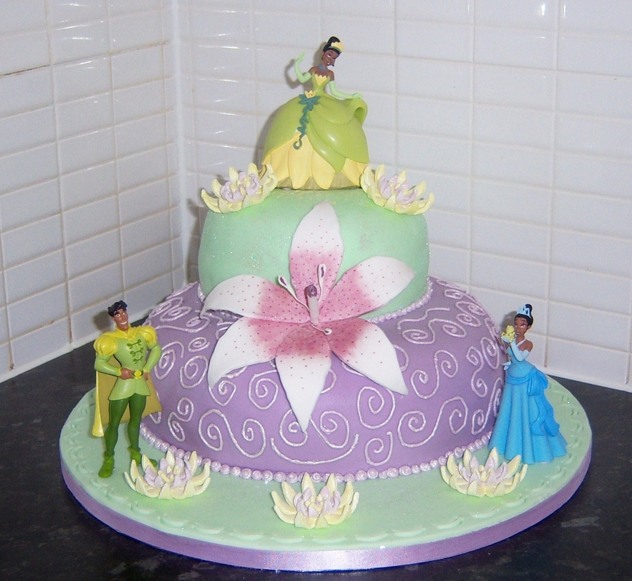 Fantastic Princess And The Frog Birthday Cake Cakecentral Com Personalised Birthday Cards Epsylily Jamesorg