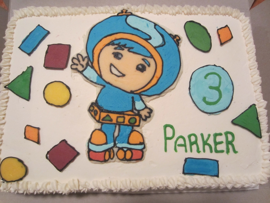 Geo From Team Umizoomi on Cake Central