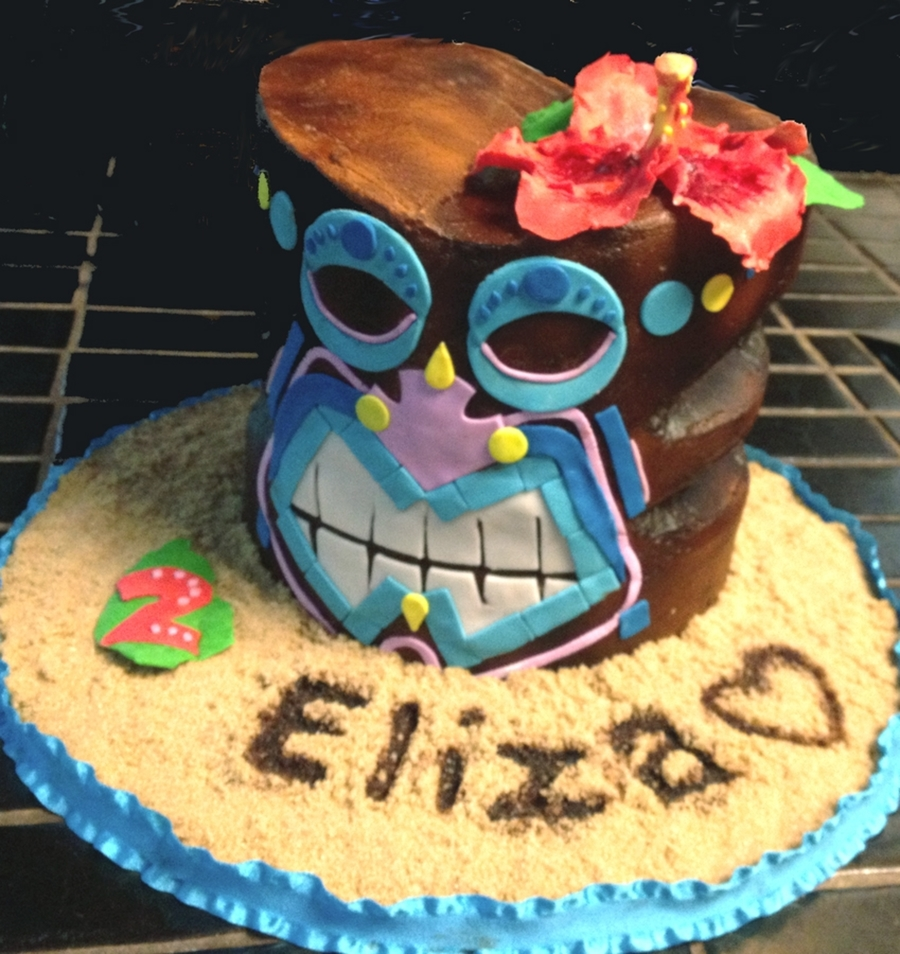Tiki Birthday  on Cake Central