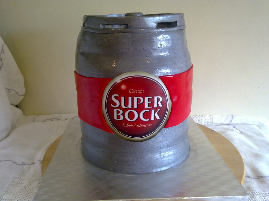 Beer Barrel on Cake Central