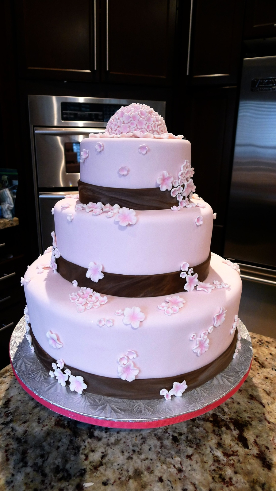 Cherry Blossom Wedding Cake - 2Nd on Cake Central
