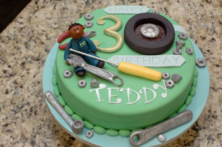 Mechanic Cake Cakecentral Com