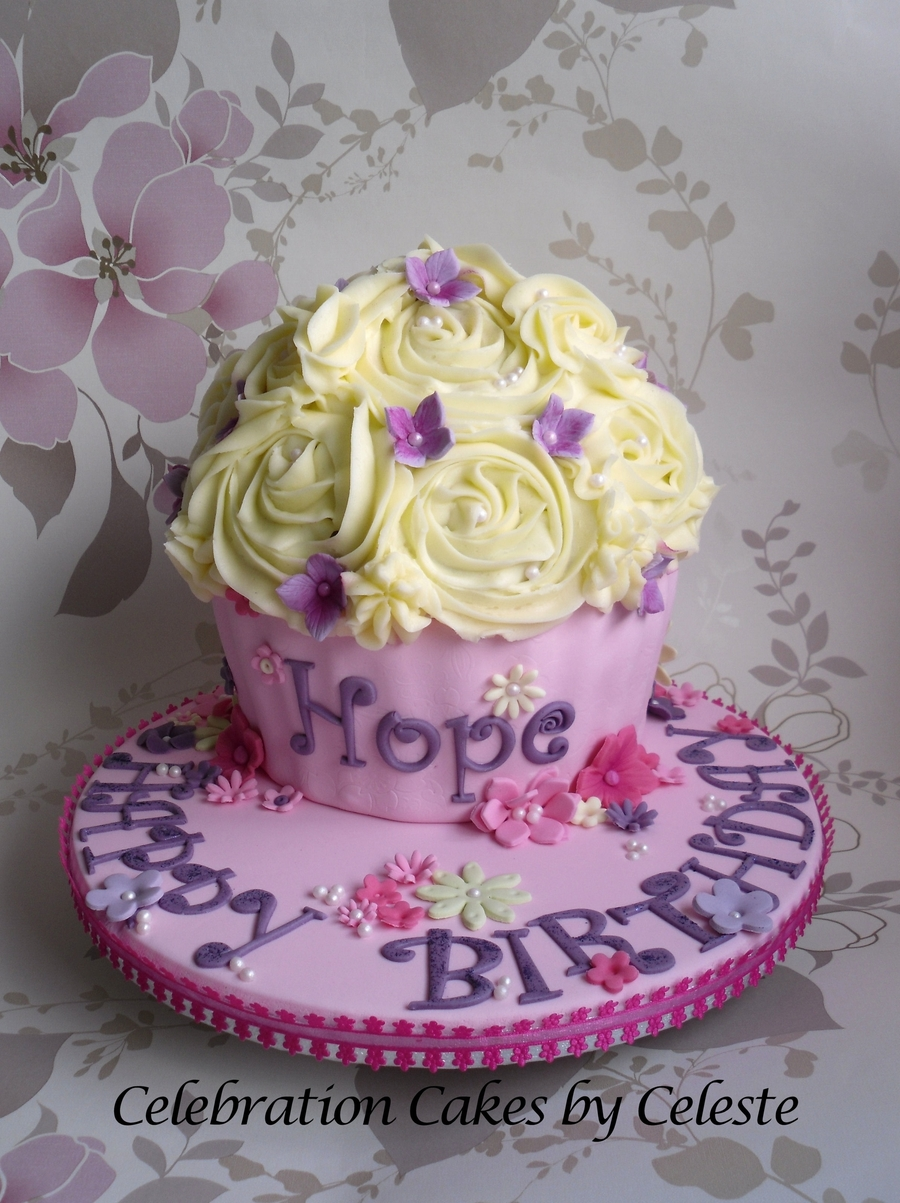 Giant Cupcake Birthday Cake Cakecentral