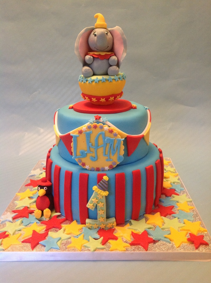 Baby Dumbo :) on Cake Central